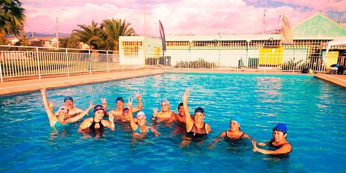 Rancaguinos despiden la temporada de natación municipal