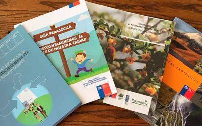 Realizan importante donación a Bibliotecas Públicas de la Sexta Región