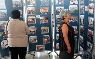 Salud Machalí estrenó muestra fotográfica Tu historia es mi historia 2018