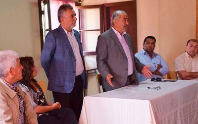 Seremi de Vivienda se reúne con vecinos del nuevo barrio Loreto de Coltauco