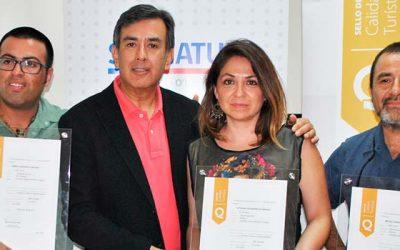Sernatur entrega Sellos de Calidad Turística a guías de turismo de la Región