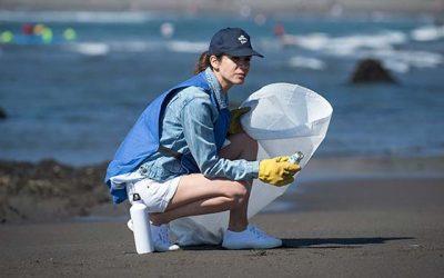 Voluntarios Por El Océano cierra paso por la Sexta Región recolectando más de 300 kilos de basura