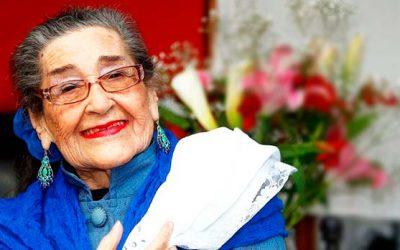 Anuncian conmemoración del centenario de Margot Loyola durante 2018