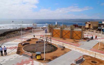 Autoridades inspeccionan obras portuarias y del borde costero en Bucalemu y Pichilemu