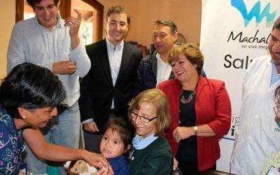 Autoridades regionales refuerzan campaña de vacunación contra la Influenza en terreno junto a Salud Machalí
