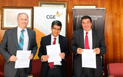 CGE y municipio de Rancagua firman protocolo de coordinación para intervenir arbolado urbano