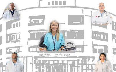 Cinco nuevos especialistas se suman al equipo médico del Hospital Santa Cruz