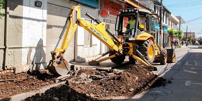 Continúa ejecutándose la remodelación del casco histórico de San Fernando