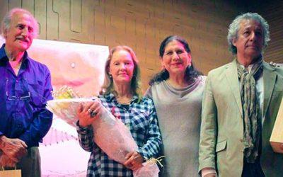 Destacados artistas Palmilla exponen sus obras en teatro municipal
