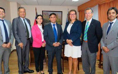 Directiva del Colegio de Abogados de la Región se reúne con presidente de la Corte de Apelaciones de Rancagua