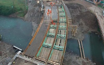 El puente curvo que engalana a Coltauco
