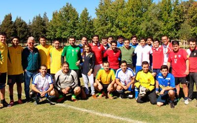 Exitoso Campeonato de Futbolito Hospital Santa Cruz