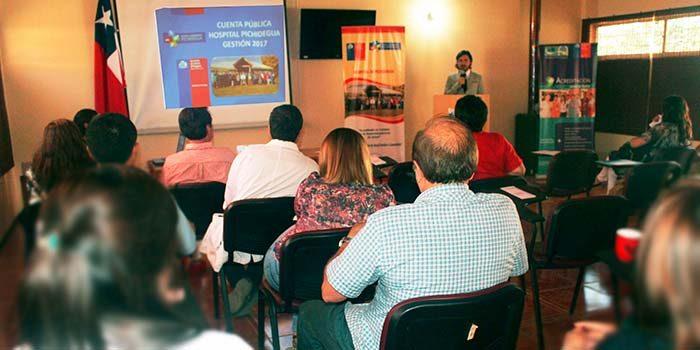 Hospital de Pichidegua realiza cuenta pública gestión 2017