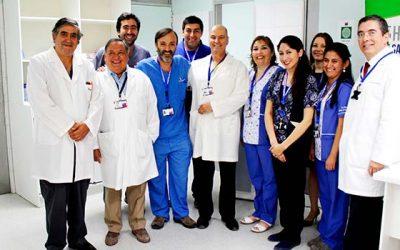 Hospital San Fernando inaugura nuevas dependencias de la Unidad de Endoscopia