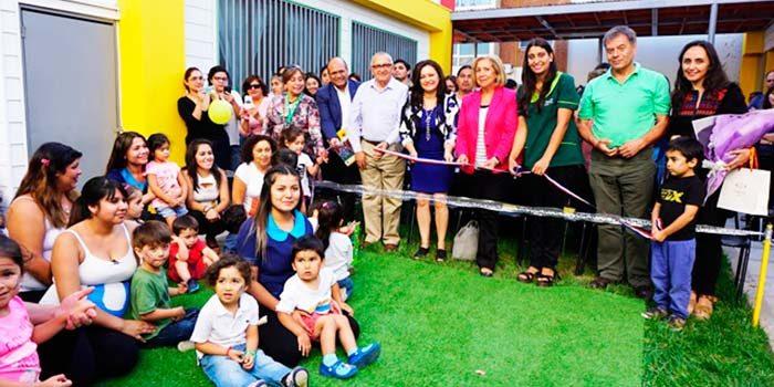 Inauguran primer jardín público del centro de Rancagua