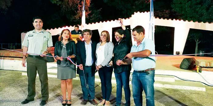 Inauguran recambio de luminarias LED en toda la comuna de Palmilla
