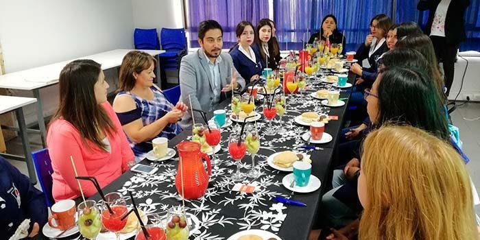 Injuv OHiggins realiza el primer desayuno público con jóvenes estudiantes de párvulo