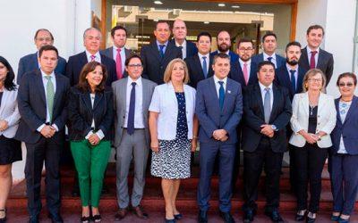 Intendente encabeza el primer gabinete regional