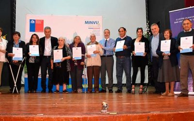 Más de 300 familias son beneficiadas con subsidios Minvu