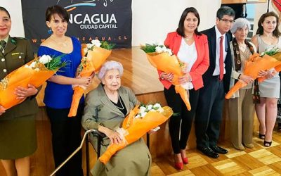 Municipalidad de Rancagua distingue a siete destacadas mujeres para conmemorar su día