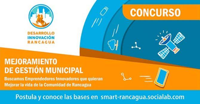 Municipio de Rancagua llama a concurso a emprendedores para mejorar su gestión