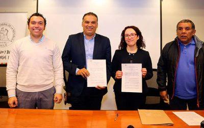 Municipio de San Fernando suscribe convenio de colaboración con la Contraloría Regional