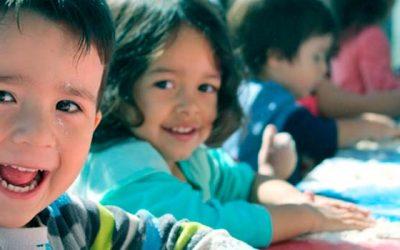 Niños de Integra aprenden a través de sus sentidos