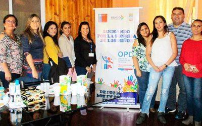 OPD Rengo participa en reunión de la red del Sename
