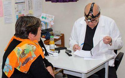 Operativo de otorrinolaringología en Rengo