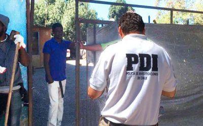 PDI detecta a cuatro extranjeros infractores de la ley de extranjería