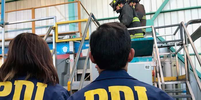 PDI investiga emanación de gases tóxicos en la comuna de Graneros
