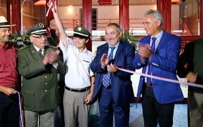 Primera Compañía de Bomberos de Coltauco cuenta con nuevo cuartel