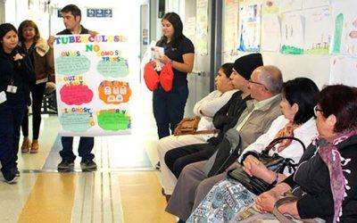 Salud Machalí impulsa campaña Juntos eliminamos la Tuberculosis
