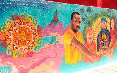 Se inaugura mural de la diversidad en Rengo
