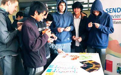 Senda Previene Pichilemu da inicio al año escolar con mensajes preventivos
