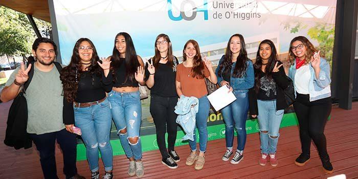 UOH inicia su año académico 2018 dando la bienvenida a estudiantes en Campus Rancagua y Colchagua