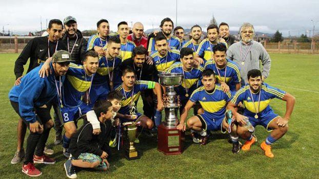 Viejos Cracks Santa Filomena se tituló bicampeón del Vecinal de Fútbol de Rancagua
