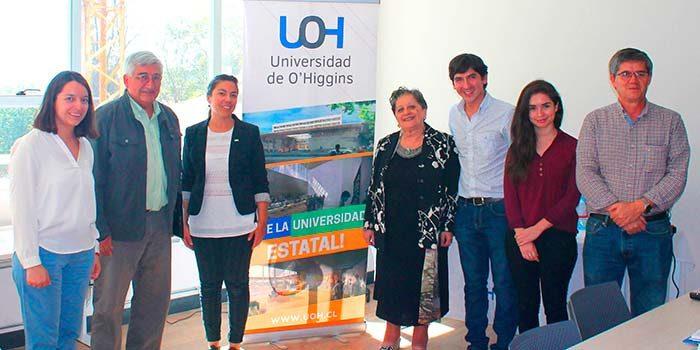 Académica de universidad italiana visita UOH para estrechar redes de investigación conjuntas