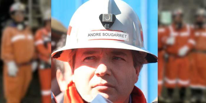 André Sougarret deja la gerencia general de Codelco El Teniente