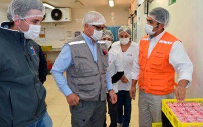 Autoridad Sanitaria realiza fiscalización a instalaciones de El Teniente