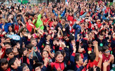 Con éxito se desarrolló el Día del Deporte en la Sexta Región