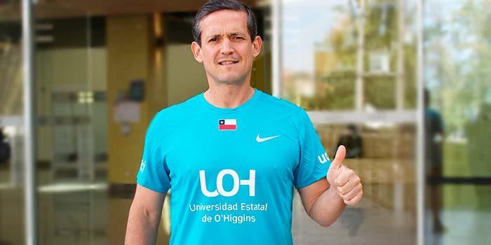 Deportista rancaguino representará a Universidad de OHiggins en Maratón de Londres