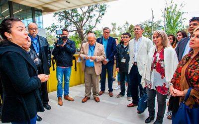 Embajadores latinoamericanos visitan la Universidad de OHiggins