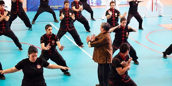 En Mostazal se realiza seminario internacional de Kung Fu