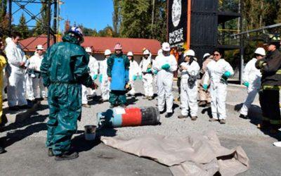 En Rancagua fiscalizadores de Salud Ocupacional de todo el país se capacitan en manejo seguro de Amoniaco