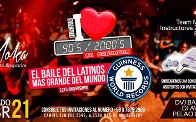 En Rancagua se llevará a cabo baile Latinos más grande de la historia