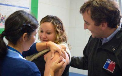 En Santa Cruz se potencia campaña de vacunación contra la Influenza con embarazadas