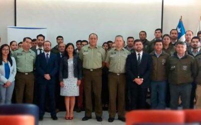 Fiscalía local Rancagua y Carabineros participan en jornada de capacitación
