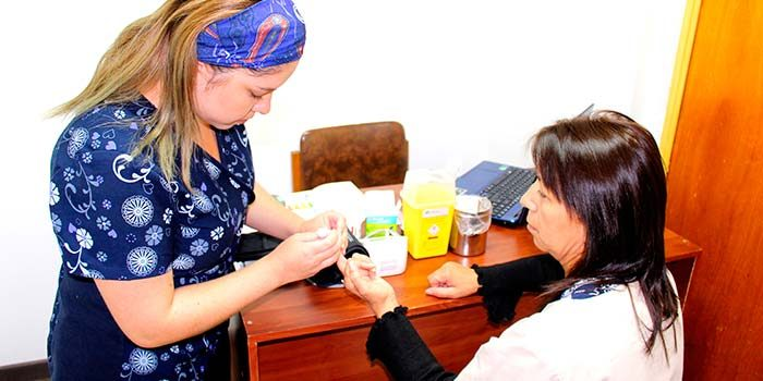 Funcionarios del Hospital San Fernando participaron en Operativo de Salud interno