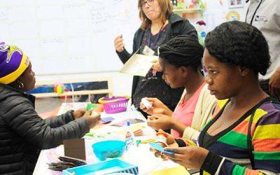 Innovador e histórico Taller Prenatal para comunidad haitiana realiza Salud Machalí en la comuna